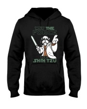 Limited Edition - Shih Tzu - The Force Hooded Sweatshirt thumbnail