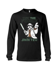 Limited Edition - Shih Tzu - The Force Long Sleeve Tee thumbnail