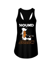 Limited Edition - Basset Hound - Han Solo Ladies Flowy Tank thumbnail