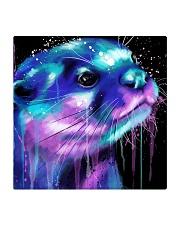 Poster Otter Square Coaster thumbnail