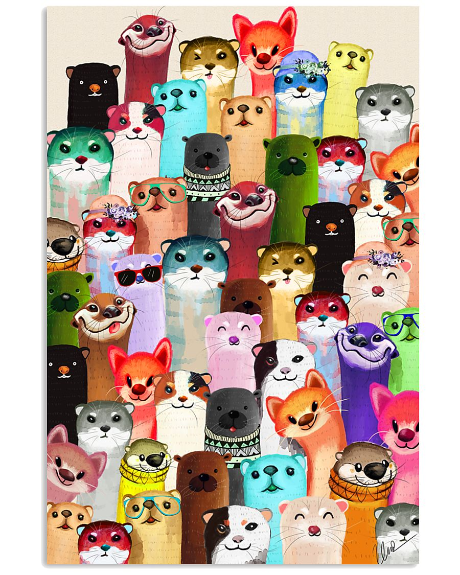 Poster Otter 24x36 Poster