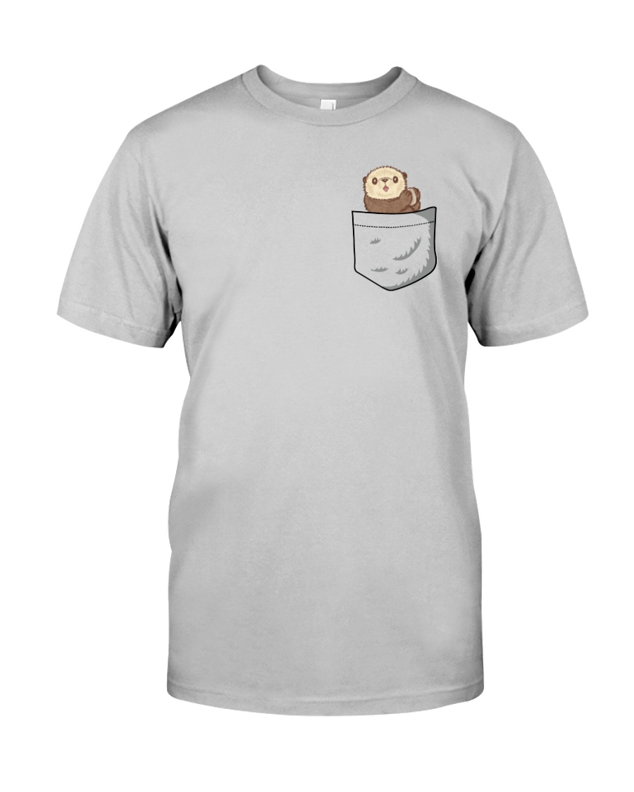 Pocket Otter  Classic T-Shirt