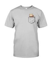 Pocket Otter  Classic T-Shirt front