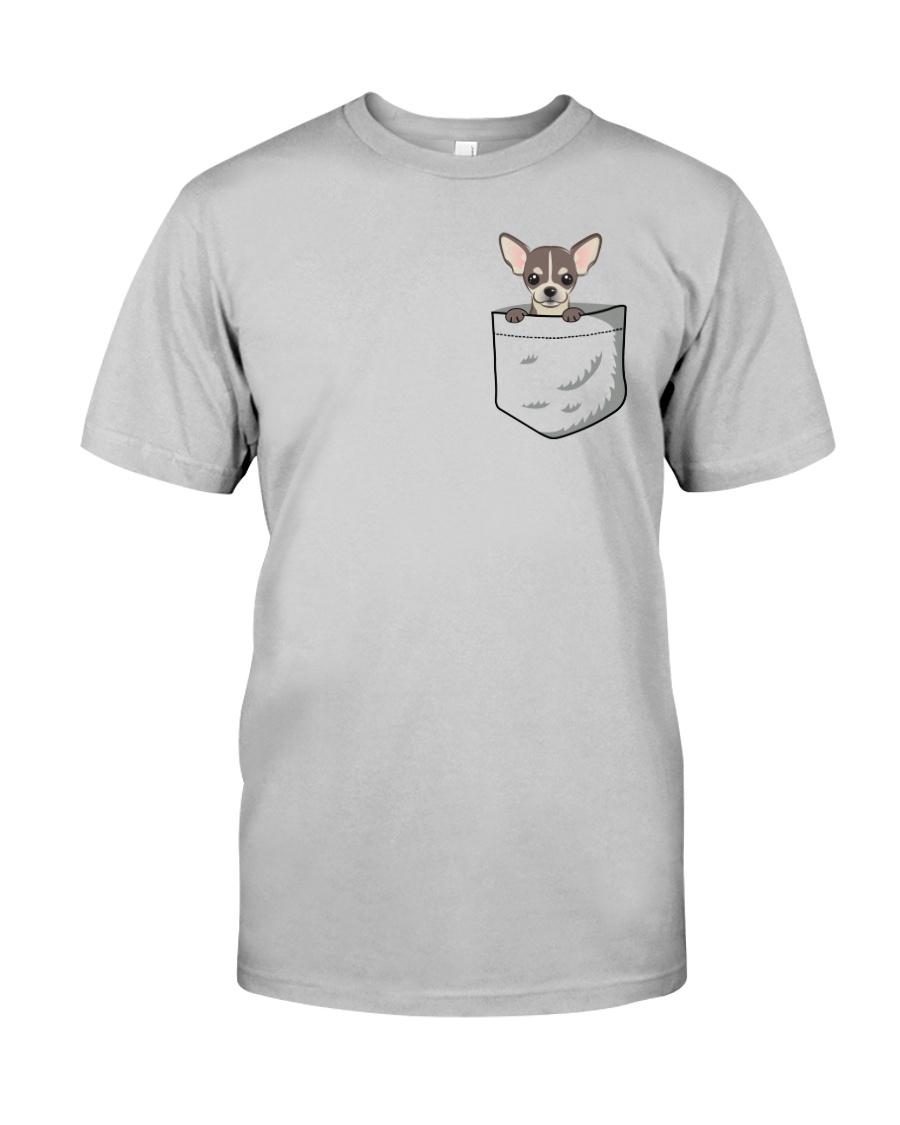 Pocket Chihuahua Classic T-Shirt