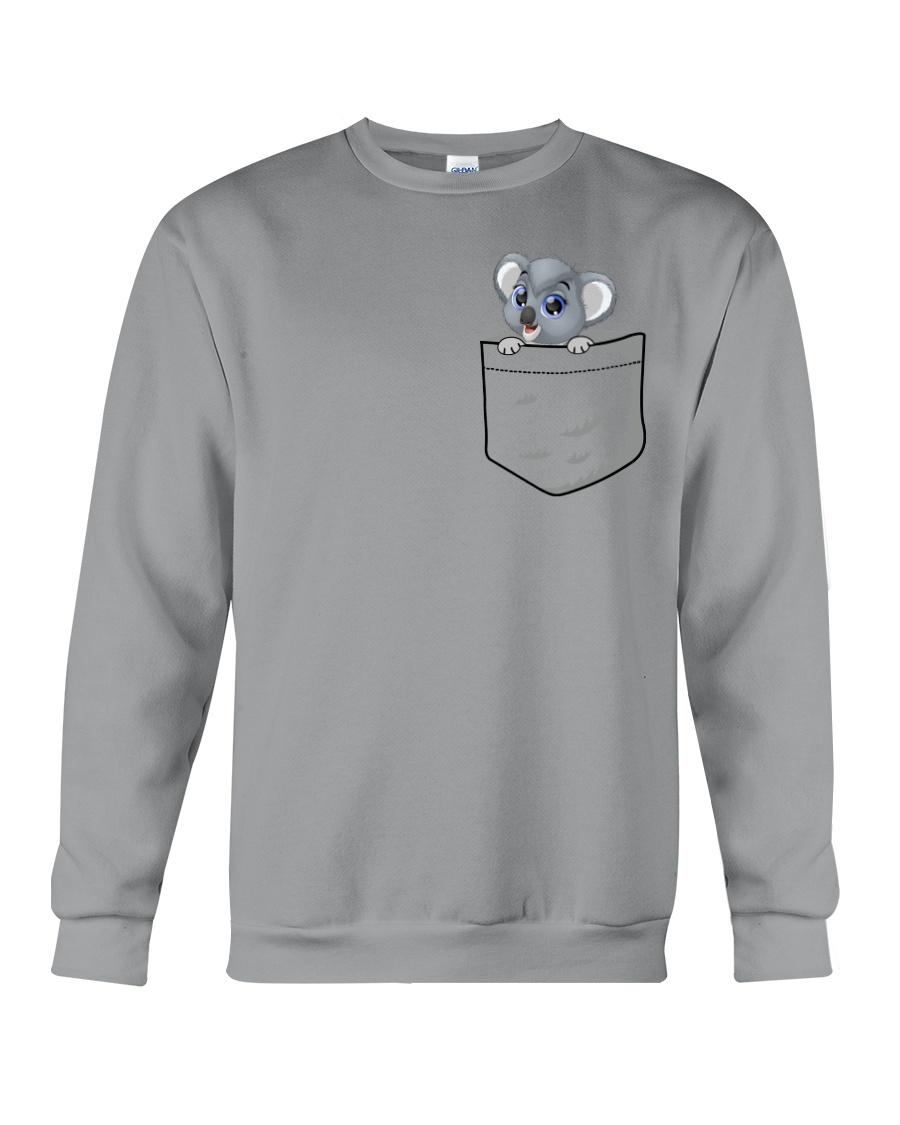 Pocket Koala Crewneck Sweatshirt
