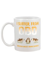 Obsessive Basset Hound Disorder Mug back