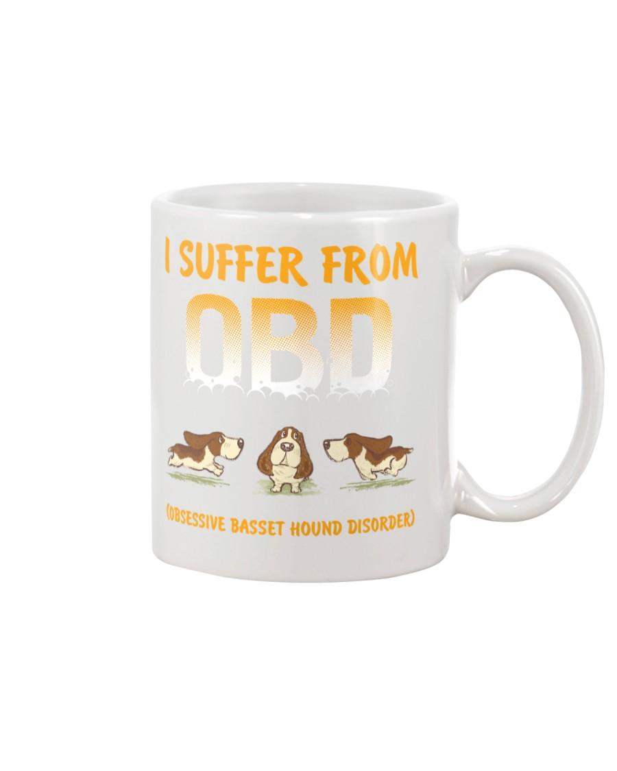 Obsessive Basset Hound Disorder Mug
