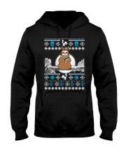 Merry Slothmas Hooded Sweatshirt thumbnail