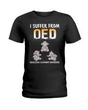 Obsesive Elephant Disorder Ladies T-Shirt thumbnail