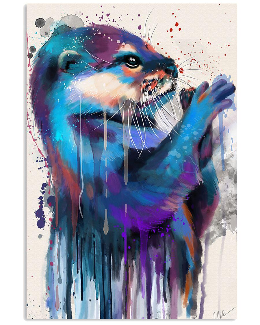 Poster Otter 11x17 Poster