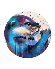 Poster Otter Circle Coaster tile