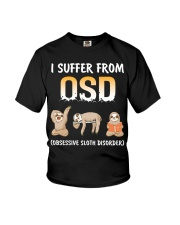 Obsessive Sloth Disorder Youth T-Shirt thumbnail