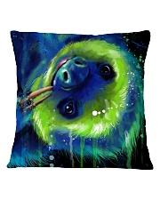 Poster Sloth Square Pillowcase thumbnail