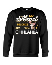 My Heart belongs to a Chihuahua Crewneck Sweatshirt thumbnail