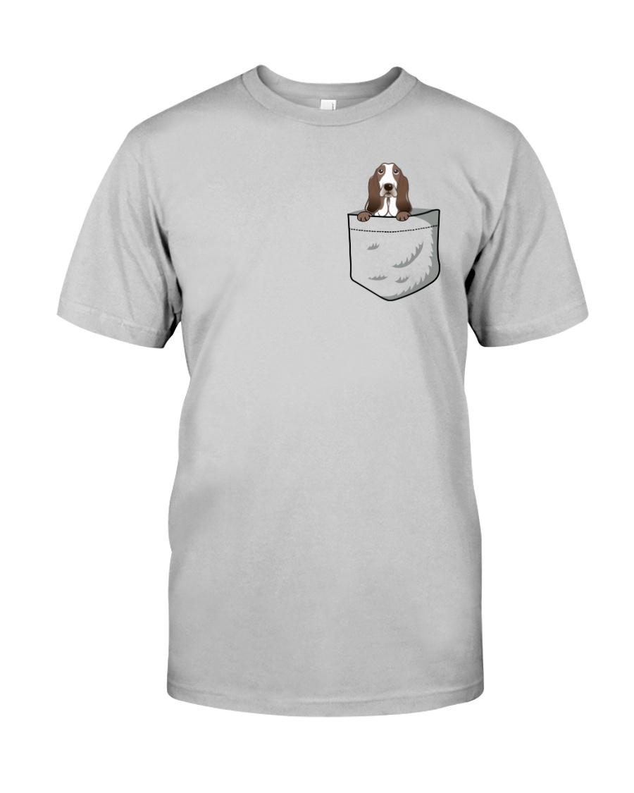 Pocket Basset Hound Classic T-Shirt