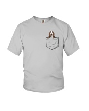 Pocket Basset Hound Youth T-Shirt thumbnail