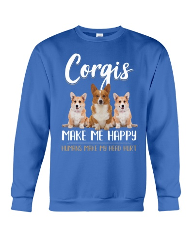 Corgis Make Me Happy