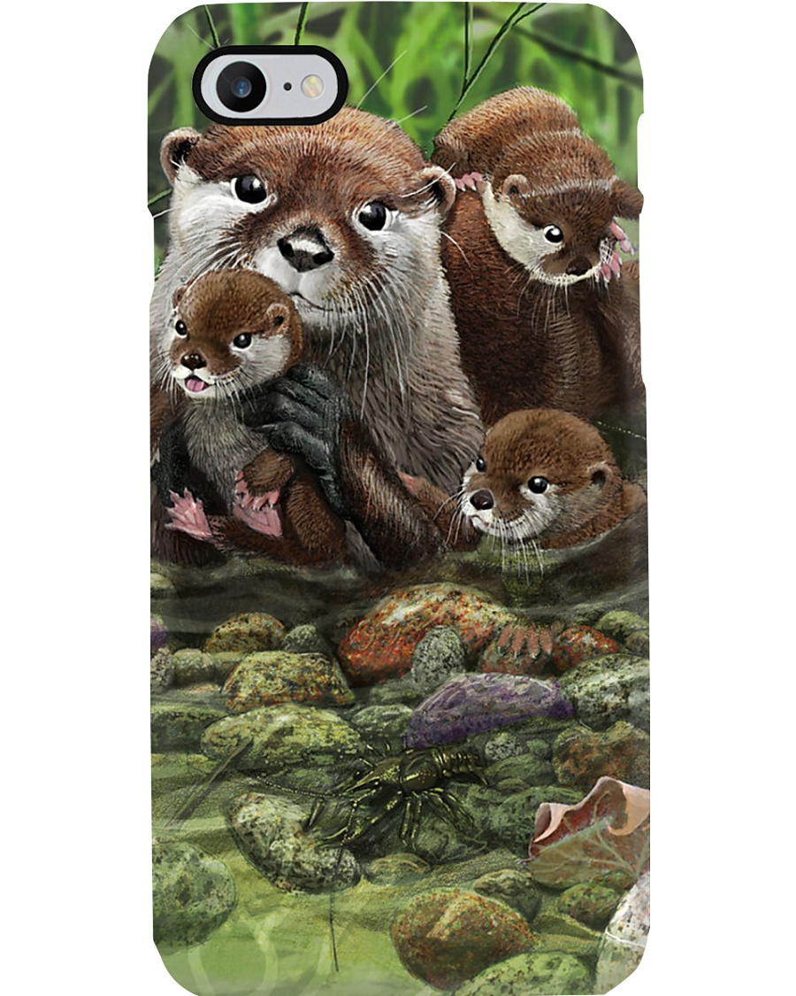 Family Otter Phone Case