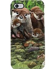 Family Otter Phone Case i-phone-8-case