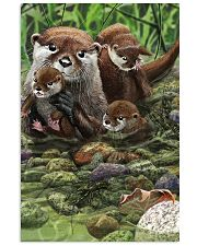 Family Otter Vertical Poster tile