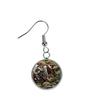 Family Otter Circle Earrings thumbnail