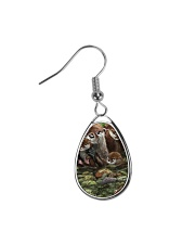 Family Otter Teardrop Earrings tile
