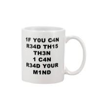 I4 YOU C4N Mug thumbnail