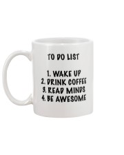 To Do List Mug back