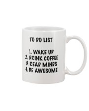 To Do List Mug front