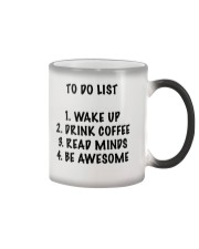 To Do List Color Changing Mug thumbnail