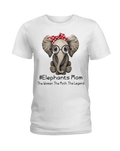 Elephants Mom