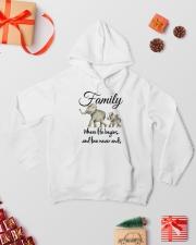 ELEPHANTS Hooded Sweatshirt lifestyle-holiday-hoodie-front-2