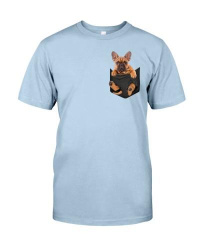 Bulldog in pocket
