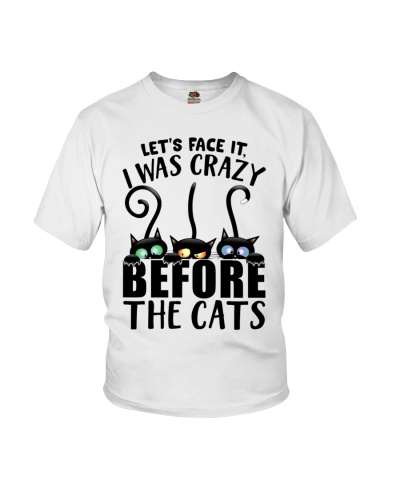 Let's face it I was crazy before the cats