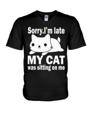Cats V-Neck T-Shirt thumbnail