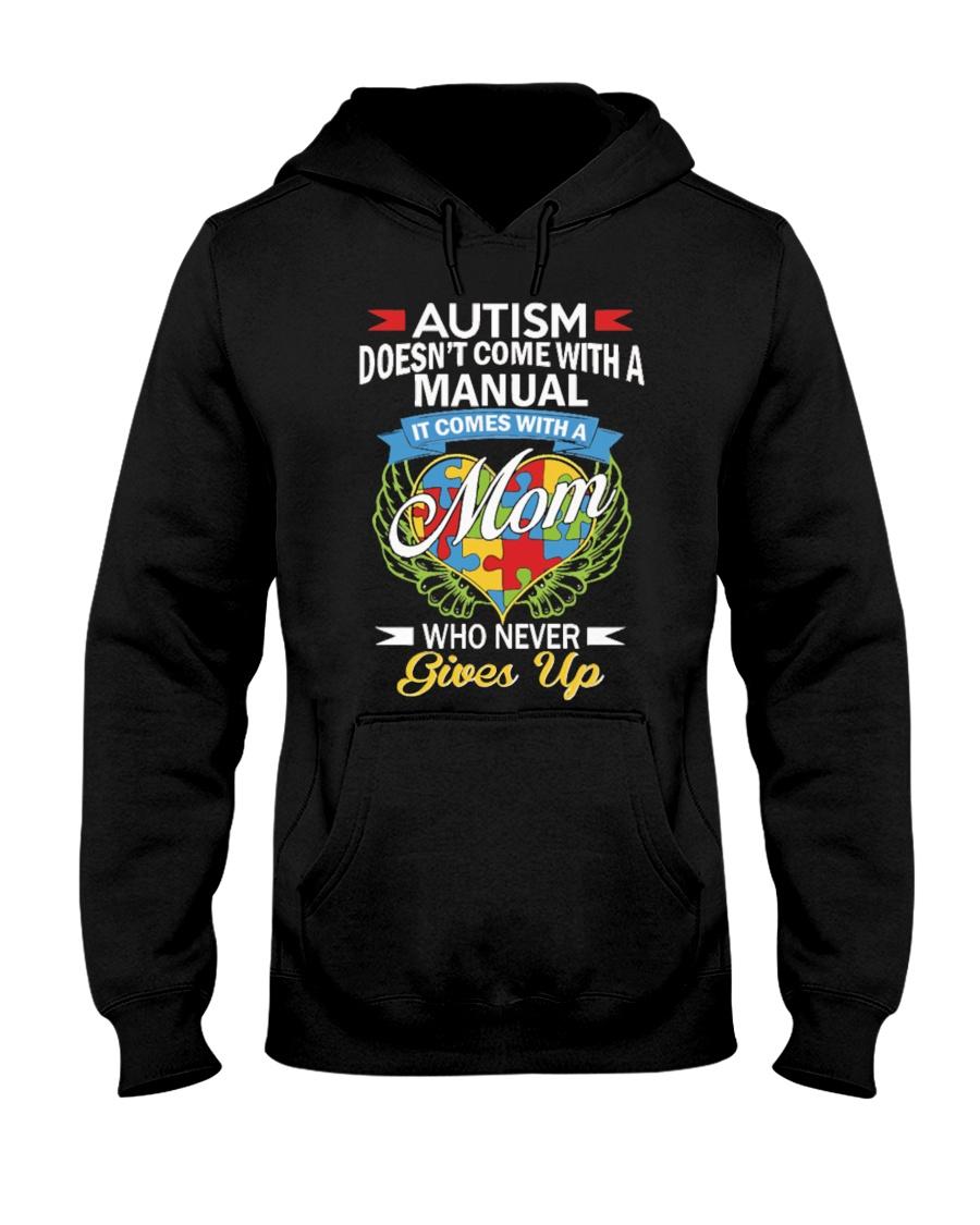 Autism Mom Hooded Sweatshirt