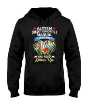 Autism Mom Hooded Sweatshirt front