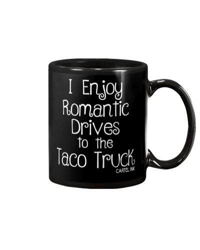 WOMEN'S ROMANTIC DRIVES TEE BY CARTEL INK