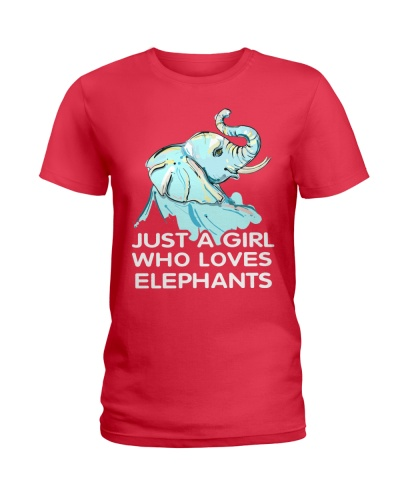 Just A Girl Who Loves Elephants