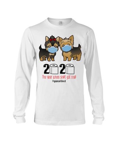 Yorkshire Terrier quarantined 2020