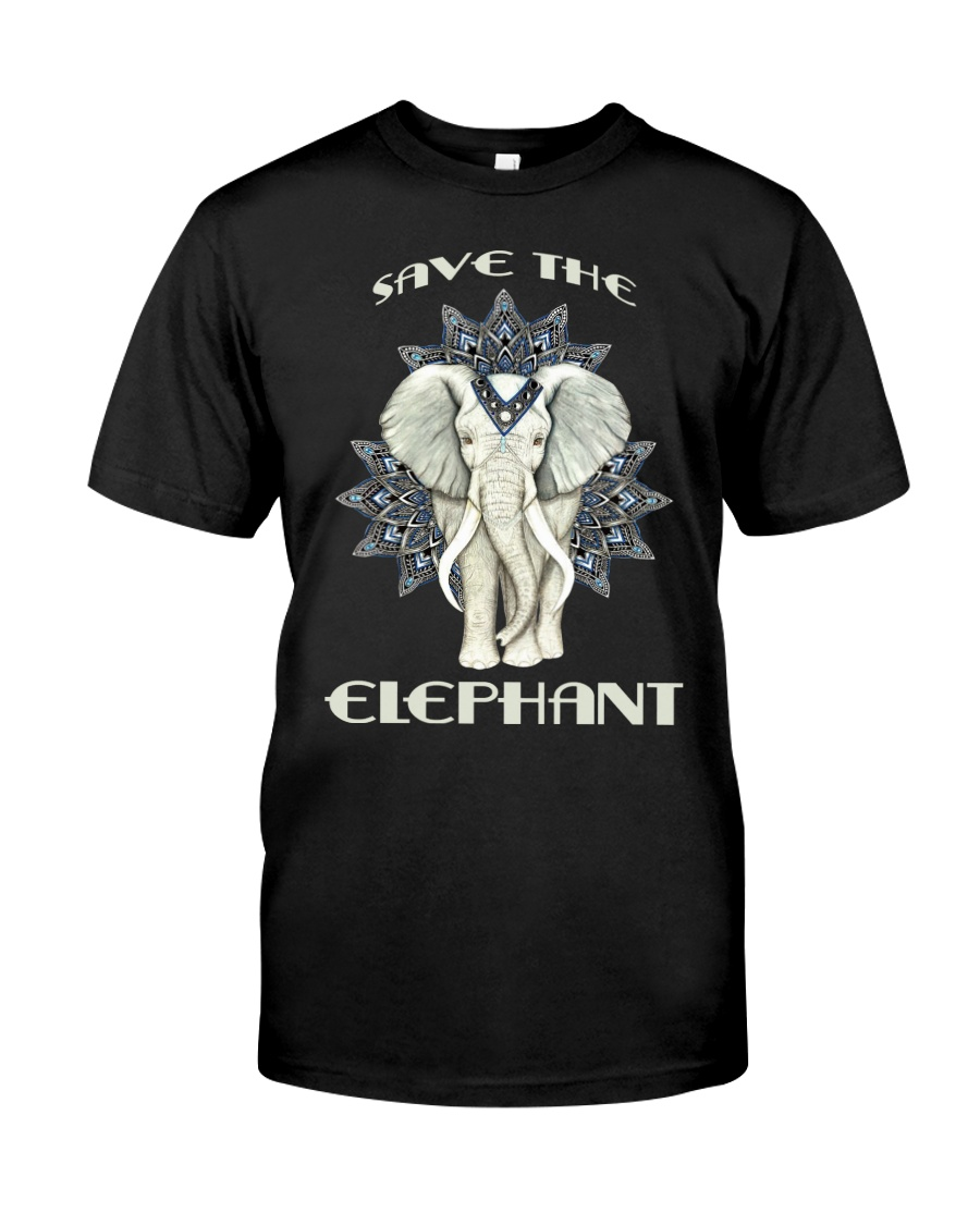 SAVE THE ELEPHANT Classic T-Shirt