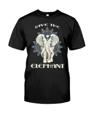 SAVE THE ELEPHANT Classic T-Shirt front