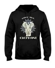 SAVE THE ELEPHANT Hooded Sweatshirt thumbnail