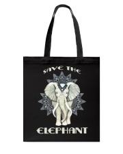 SAVE THE ELEPHANT Tote Bag thumbnail