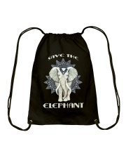 SAVE THE ELEPHANT Drawstring Bag thumbnail