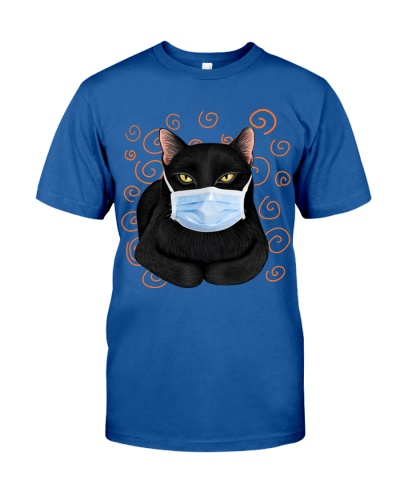 Black cat masked