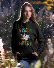 Autism Awareness Hooded Sweatshirt lifestyle-holiday-hoodie-front-5