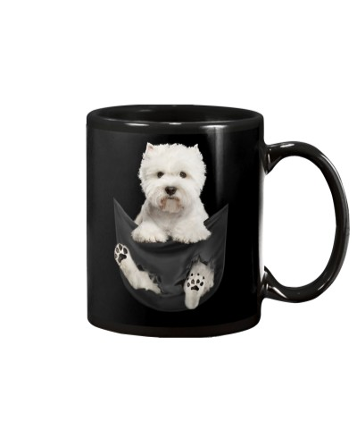 West Highland White Terrier In Pocket
