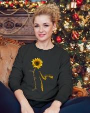Cat Love Crewneck Sweatshirt lifestyle-holiday-sweater-front-2