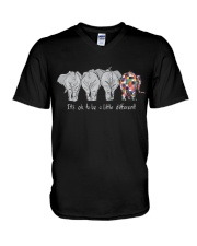 ELEPHANTS V-Neck T-Shirt thumbnail